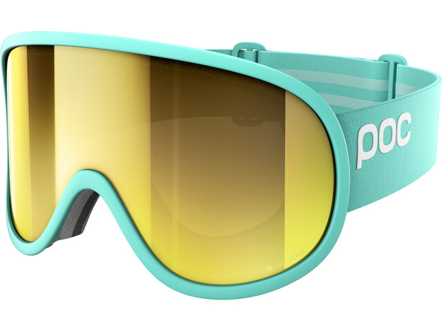 POC Retina Big Clarity Goggles tin blue/spektris gold